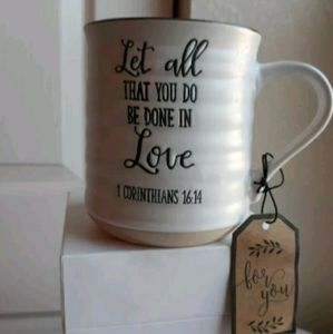 """Sheffield Home Bible Verse"""" Let all That You Do..."""